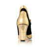 Buy Gold Heel Ankle Boot
